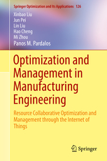 Optimization and Management in Manufacturing Engineering - book cover