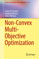 Non-Convex Multi-Objective Optimization - book cover