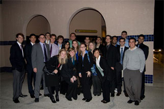 Alpha Pi Mu group photo