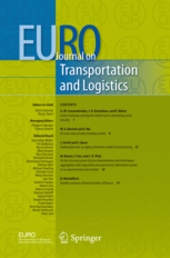 Euro journal on transportation and logistics journal cover