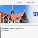 Screenshot of a Coursera page