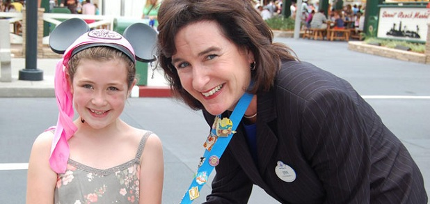 Erin Wallace poses for a photograph in Disney World