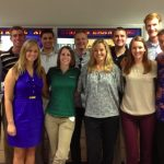 Young Alumni Advisory Board group photo