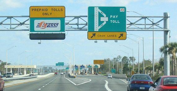 A Florida toll road