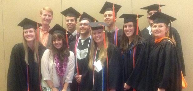 Group photo of ISE graduates
