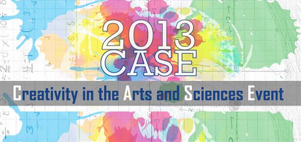 CASE logo on a stylized backgrond