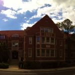 Panorama of UF's Weil Hall