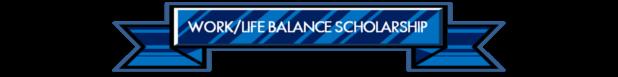 Work Life Balance scholarship logo