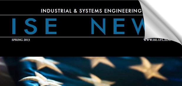 ISE Spring 2013 newsletter cover