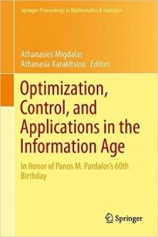 New Book Honoring Panos Pardalos's 60th Birthday