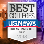 Best Colleges | U.S. News & World Report - National Public Universities, 2018