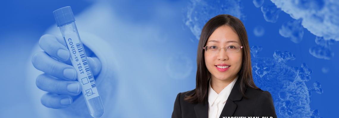 Xiaochen Xian, Ph.D. headshot