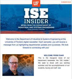 ISE Insider: Summer 2018