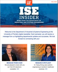 ISE Insider: Fall 2018
