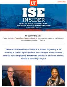 ISE Insider: Spring 2020