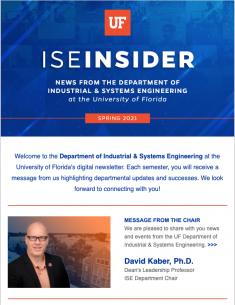 ISE Insider: Spring 2021